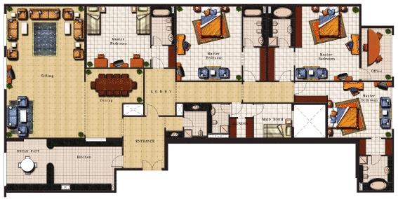 Armada Tower 2 at JLT area Dubai – Dubai House Floor Plans
